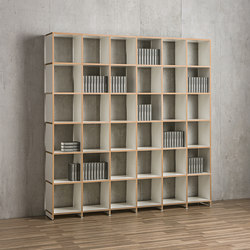 Classic shelf-system | Office shelving systems | mocoba