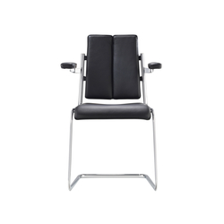 D10 Cantilever chair with armrests | Chairs | TECTA