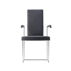 D20P Upholstered cantlever chair | Visitors chairs / Side chairs | TECTA