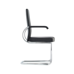 D22P Upholstered cantilever chair | Visitors chairs / Side chairs | TECTA