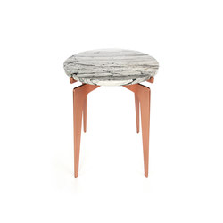 PRONG Side Table - Copper | Tavolini d'appoggio / Laterali | Gabriel Scott