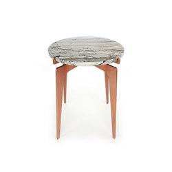 PRONG Side Table - Copper | Mesas auxiliares | Gabriel Scott