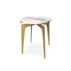 PRONG Side Table - Brass | Side tables | Gabriel Scott