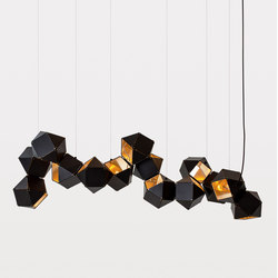 WELLES Long Chandelier | Suspended lights | Gabriel Scott