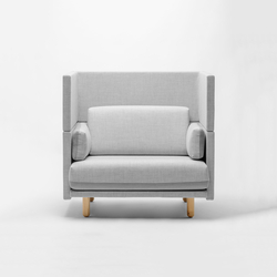 Arnhem Loveseat 118 | Lounge chairs | De Vorm