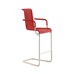 D30 Bar chair with armrests | Tabourets de bar | TECTA