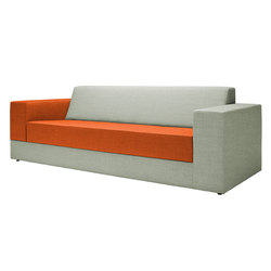 Colors Sofa | Divani lounge | Red Stitch
