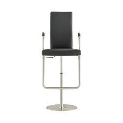 D32PE Upholstered bar chair | Sgabelli bar | TECTA