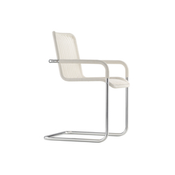 D41 Cantilever chair with armrests | Sillas de visita | TECTA