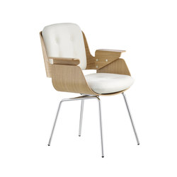 D48 Executive chair 4-leghged steel tube base | Sièges visiteurs / d'appoint | TECTA