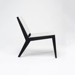 Wood me Lounge Chair | Loungesessel | De Vorm