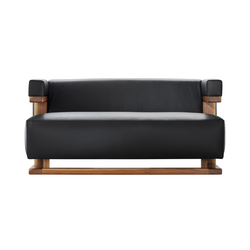 F51-2  Gropius-sofa 2 seats | Canapés d'attente | TECTA