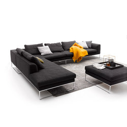 Mell Lounge Sofa mit Hocker | Sofas | COR