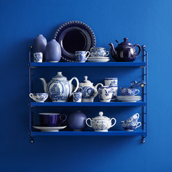 string pocket blue | Shelving systems | string furniture