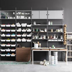 string system | Office shelving systems | string furniture