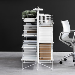 string works | Office shelving systems | string furniture