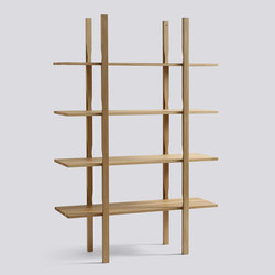 The Wooden Shelf | Sistemi di scaffali | Hay