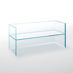 Prism Glass Sofa | Benches | Glas Italia