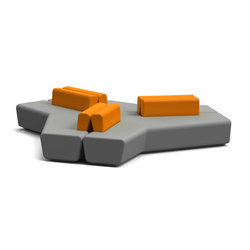 Stone | Seating islands | Quinti Sedute