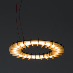 OLAMP BIRCH | Suspended lights | jacob de baan