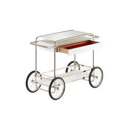 M4RS Console-trolly with drawer | Carritos de servicio / Carritos de bar | TECTA