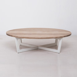 Essentials Oval Coffee Table Large | Tables basses | Uhuru Design