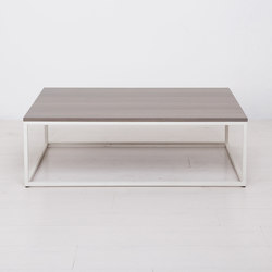 Essentials Rectangular Coffee Table Small Lounge Tables Uhuru Design