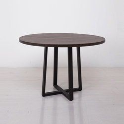 Essentials Round Dining Table | Mesas para cafeterías | Uhuru Design