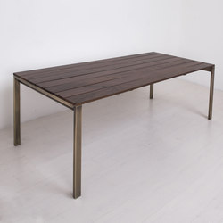 Essentials Rectangular Dining Table | Restaurant tables | Uhuru Design