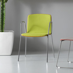 Rudy | Visitors chairs / Side chairs | Quinti Sedute