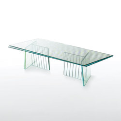 Crossing | Tables basses | Glas Italia