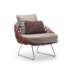 Noodle Easy Armchair | Garden armchairs | Kenneth Cobonpue
