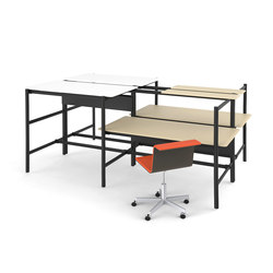 Dan Seating Standing Combo | 4-persons workstations | BULO
