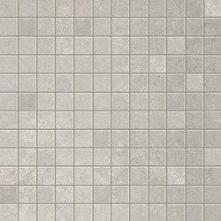 Evoque Grey Gres Mosaico Floor | Ceramic mosaics | Fap Ceramiche
