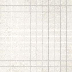 Evoque White Gres Mosaico Floor | Ceramic mosaics | Fap Ceramiche