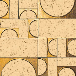 Evoque Sigillo Oro Inserto | Ceramic tiles | Fap Ceramiche