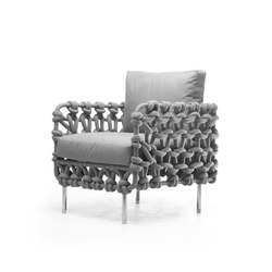 Cabaret Easy Armchair | Poltrone | Kenneth Cobonpue