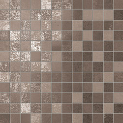 Evoque Earth Mosaico Wall | Ceramic mosaics | Fap Ceramiche