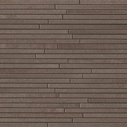Evoque Tratto Earth Mosaico Wall | Ceramic mosaics | Fap Ceramiche