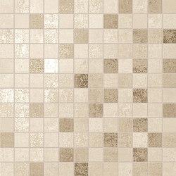 Evoque Beige Mosaico Wall | Ceramic mosaics | Fap Ceramiche