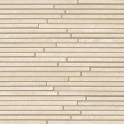 Evoque Tratto Beige Mosaico Wall | Mosaics | Fap Ceramiche