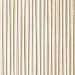 Evoque Plissé Beige  Wall | Ceramic tiles | Fap Ceramiche