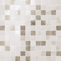 Evoque White Mosaico Wall | Ceramic mosaics | Fap Ceramiche