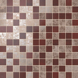 Evoque Copper Mosaico Wall | Ceramic mosaics | Fap Ceramiche