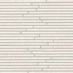 Evoque Tratto White Mosaico Wall | Mosaics | Fap Ceramiche