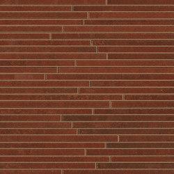 Evoque Tratto Copper Mosaico Wall | Mosaike | Fap Ceramiche