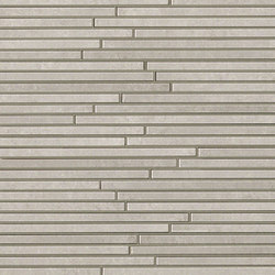 Evoque Tratto Grey Mosaico Wall | Mosaïques céramique | Fap Ceramiche