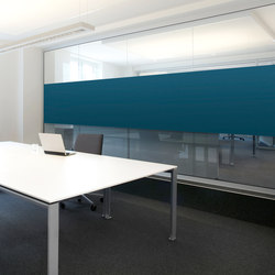 WALL COVER Glass wall | Sound absorbing wall systems | acousticpearls