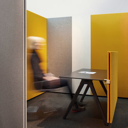 Focused Work | Sound absorbing architectural systems | acousticpearls