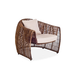Lulu Easy Armchair | Poltrone | Kenneth Cobonpue